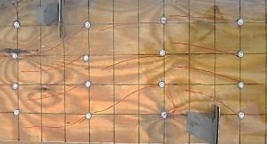 hout stroomgoot
